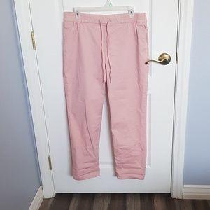 Old navy Pink straight leg pants